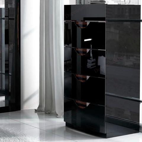 Комод вертикальный FENICIA 3008 MARBELLA черный