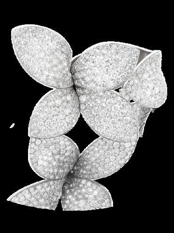 Кольцо GIARDINI  из серебра с цирконами