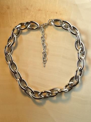 Колье Лониана, серебряный цвет