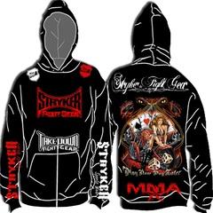T-Shirt - MMA Fighter Stryker Hoodie BJJ Jacket