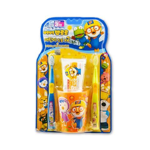 Набор детский Pororo Toothbrush For Kids