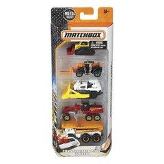 Набор из пяти машинок C1817 Mattel Matchbox