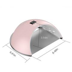 Soline Charms, Лампа UV/LED Sun6 48W, розовая