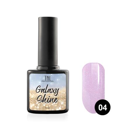 Гель-лак TNL Galaxy shine №04 - сиреневый с шиммером (10 мл.)