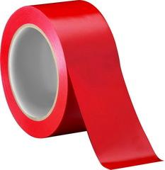 Скотч цветной (красный) 150м.