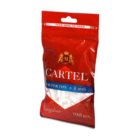 Фильтры сигаретные Tips CARTEL King Size