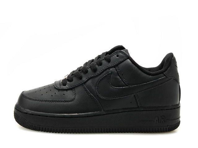 b384baf5 Классические кроссовки Nike Air Force 1 Low 'Black' (Найк Аир Форс ...