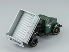 GAZ-93B Tipper 1974 green-gray DIP 1:43