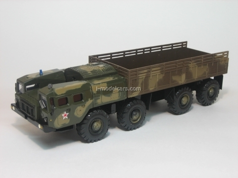 MAZ-7310 board summer camouflage Elecon 1:43