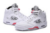 Air Jordan 5 Retro x Supreme 'White'