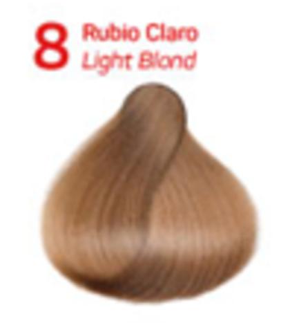 8 светлый блондин. Краситель для волос с эффектом лифтинга KV-1