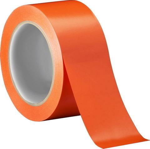 Скотч цветной (оранжевый) 150м.