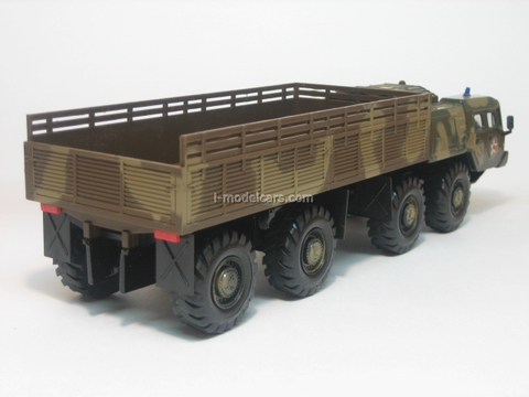 MAZ-7310 board summer camouflage Elecon 1:43