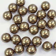 5810 Хрустальный жемчуг Сваровски Crystal Antique Brass круглый 12 мм