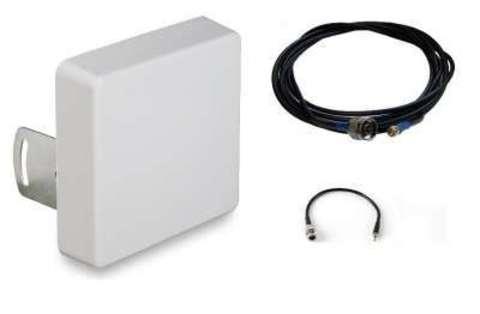 Комплект усиления GSM/3G/LTE сигнала для модема LTE-SET Дача Мультидиапазон