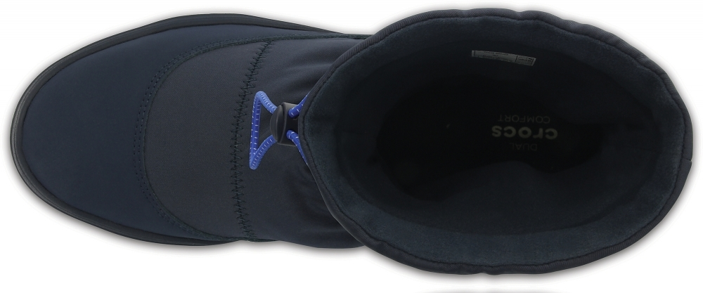 Женские сапожки Crocs Women's LodgePoint Pull-on Boot Navy