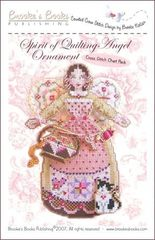 Brooke`s Books Publishing Spirit of Quilting Angel