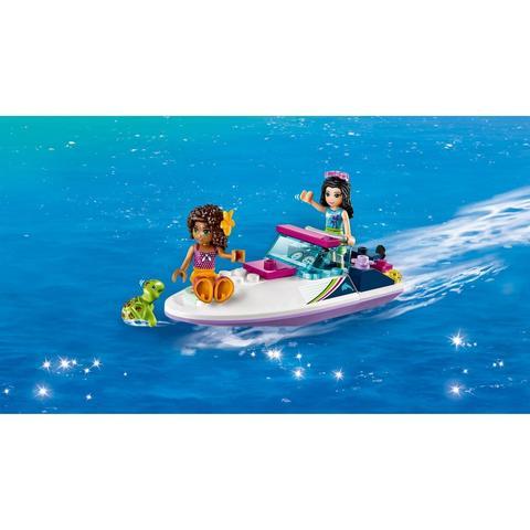 LEGO Friends: Скоростной катер Андреа 41316 — Andrea's Speedboat Transporter — Лего Френдз Друзья Подружки