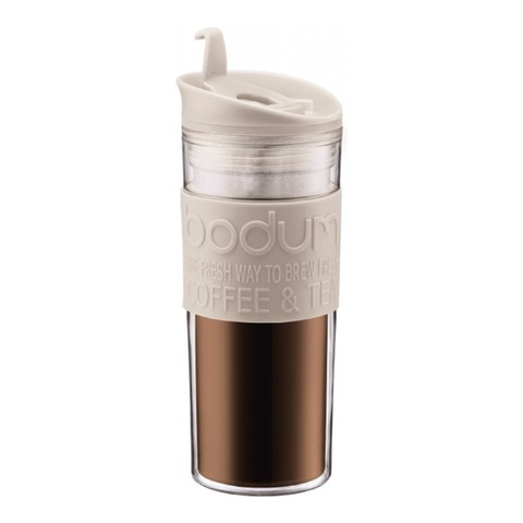 Кружка дорожная Bodum Travel (0,45 литра), белая