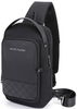 Однолямочный рюкзак  ARCTIC HUNTER XB00105 Черный USB