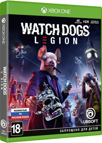 Xbox One Watch Dogs: Legion (русская версия)