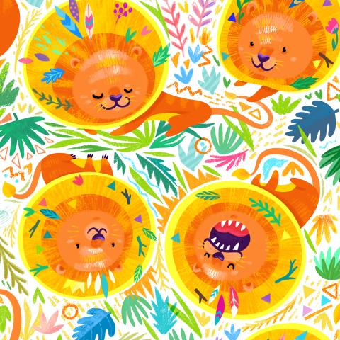 Солнечные львятки