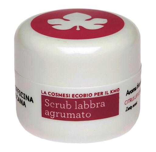 Скраб для губ с цитрусовым ароматом, Biofficina Toscana