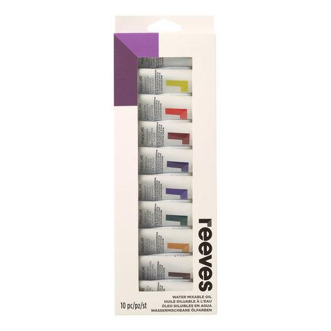 Набор водорастворимого масла Reeves 22 мл*10 цв, в картонной упаковке