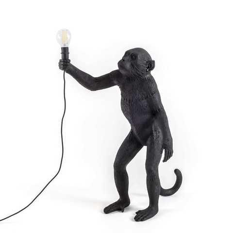 Напольный светильник копия Monkey by Seletti (черный)