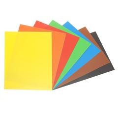 Картон цветной мелованный двусторонний Каляка-Маляка 195х265 мм, 7 цветов, 7 листов/КЦДКМ07