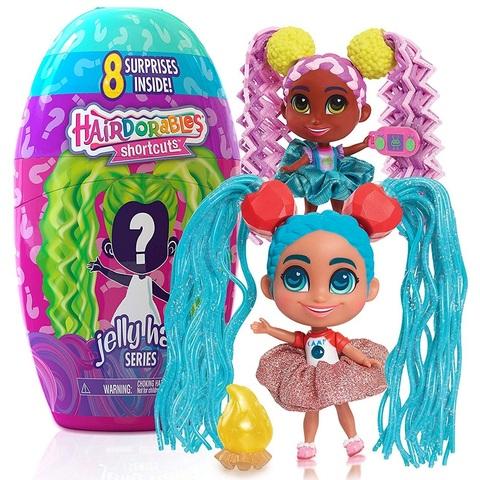 Кукла-сюрприз Hairdorables Шоткатс 2 серия