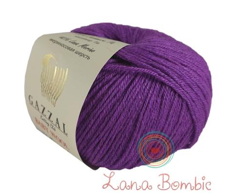 Пряжа Gazzal Baby Wool фиолетовый 815