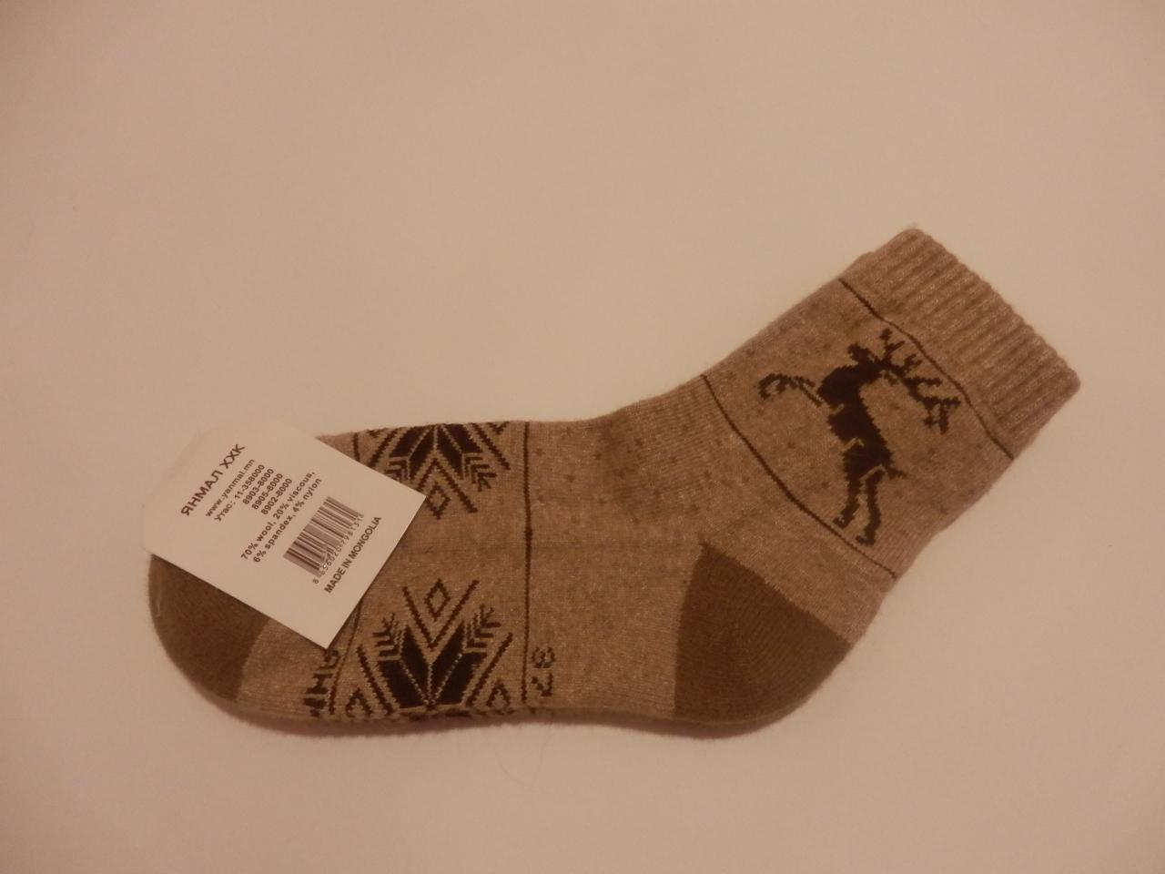 Носки из верблюжьей шерсти фото8
