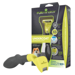 Фурминатор  для собак карликовых длинношерстных пород, FURminator Dog Undercoat XS Long Hair 12 YA