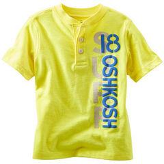OSH KOSH Футболка ярко-желтая МВ64
