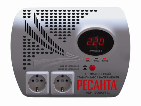 Стабилизатор АСН-1 000 H2/1-Ц Ресанта