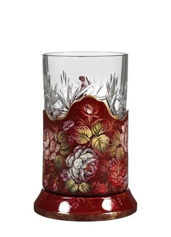 Zhostovo tea glass holder PODS25102018D002