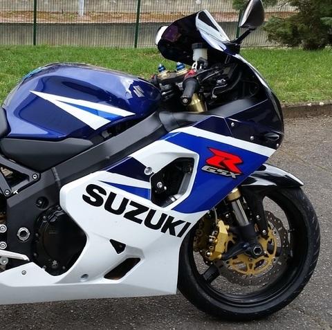 Набор наклеек на мотоциул Suzuki GSX-R 750, 2005г.
