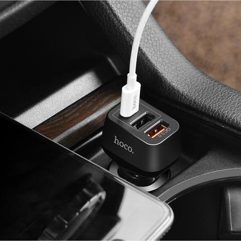 Купить автомобильное зарядное устройство Hoco Z15A