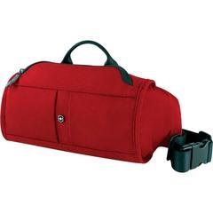 Сумка поясная Victorinox Lumbar Pack, с системой защиты RFID, красный, 27x7x15 см, 3 л