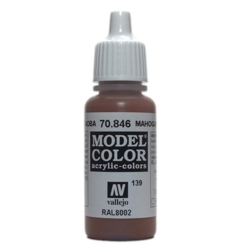 Model Color Mahogany Brown 17 ml.