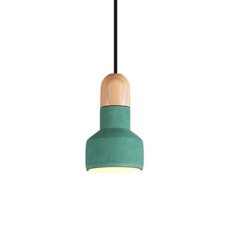 Подвесной светильник копия QIE BAMBOO by Bentu Design (зеленый)