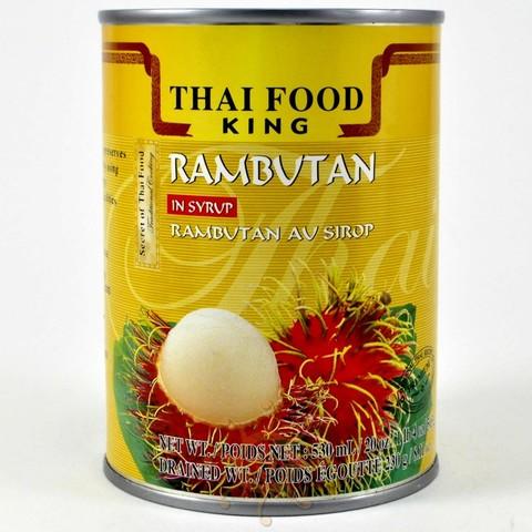 Рамбутан в сиропе Thai Food King, 565г