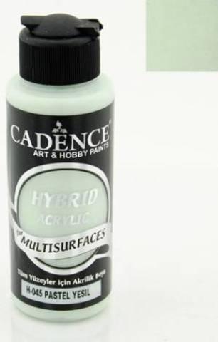 №45 Hybrid Acrylic, Пастельный зеленый, 70мл., Cadence