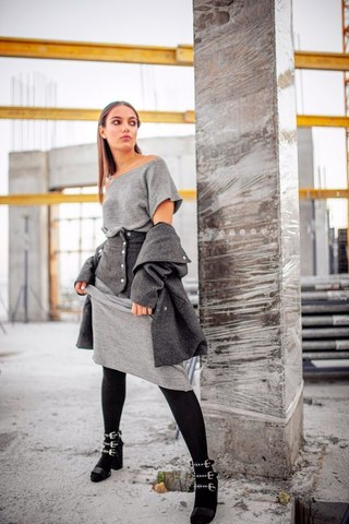 Fashion Mill DOLCETTO, фиолет (100 г)