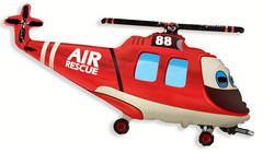F Мини-фигура Вертолет-Спасатель 14