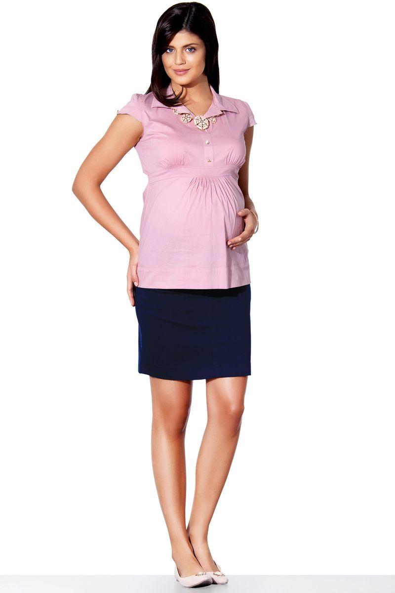 Рубашка для беременных 01314 пудра