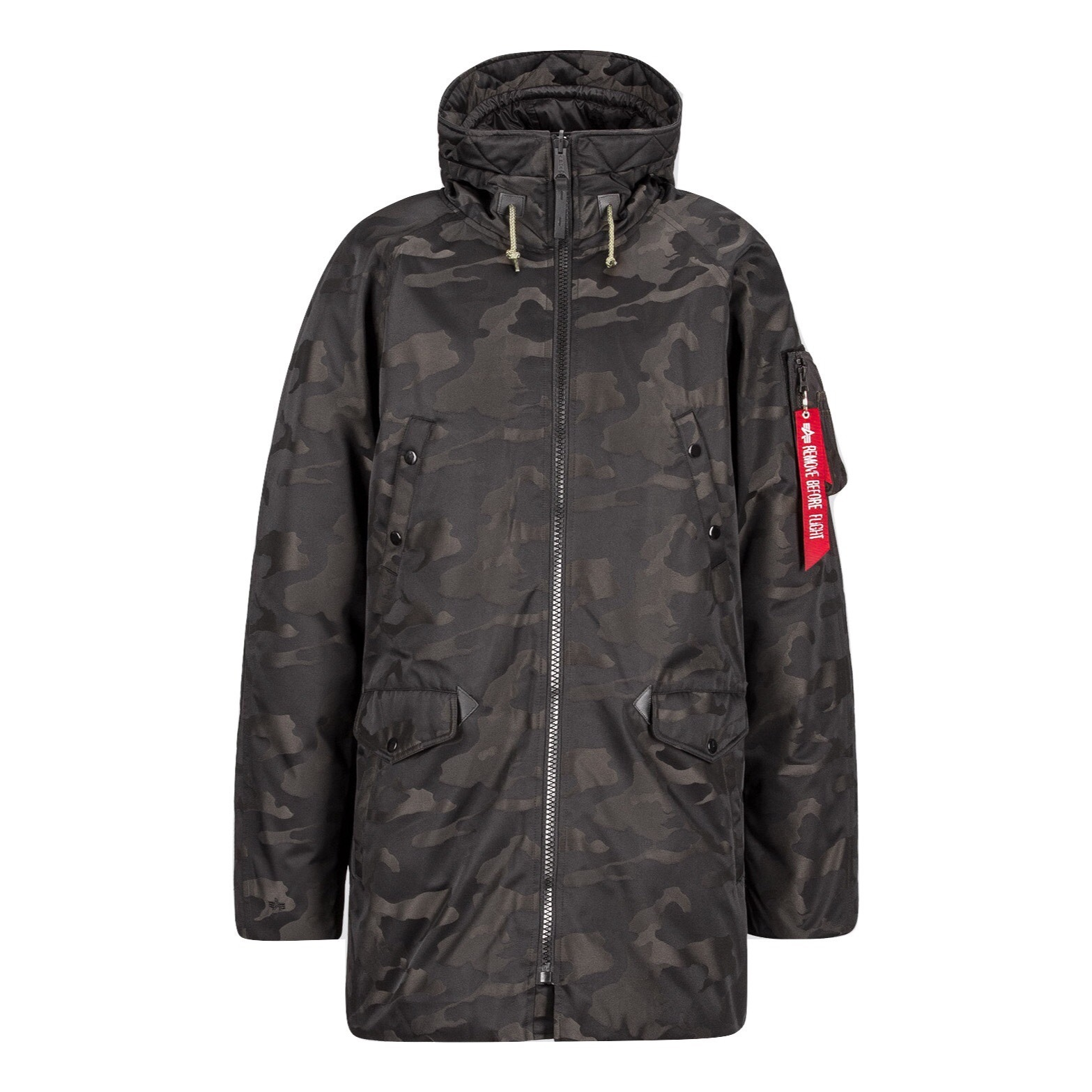 Парка Alpha Industries N-3B Down Parka Jacquard (камуфляжная)
