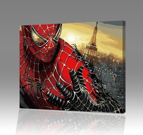 Картина по номерам на холсте Spider-Man 3, 40см*50см