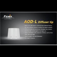 Рассеиватель белый Fenix AOD-L  для фонарей